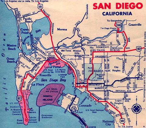 California  AARoads Historic US - Highway 80 on us map