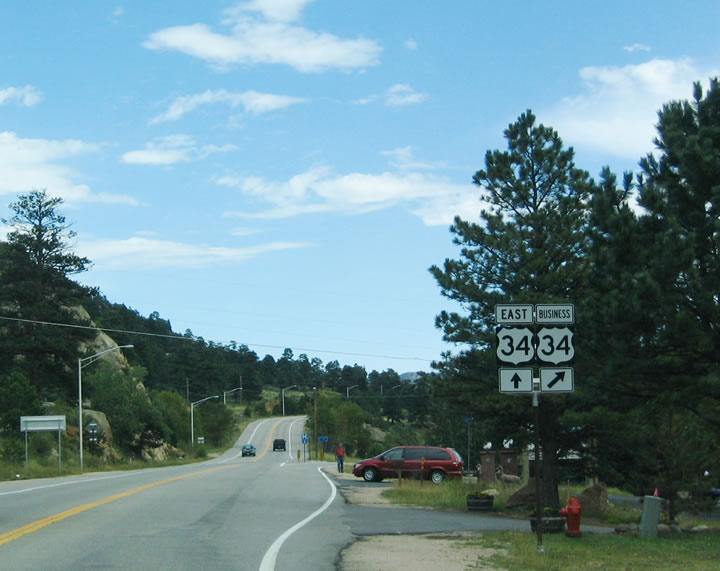 U S  34 East - Granby to Estes Park - AARoads - Colorado
