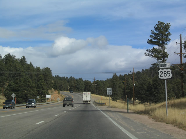 U S  285 North - Fairplay to Morrison - AARoads - Colorado