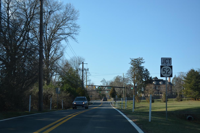 State Route 52 - AARoads - Delaware
