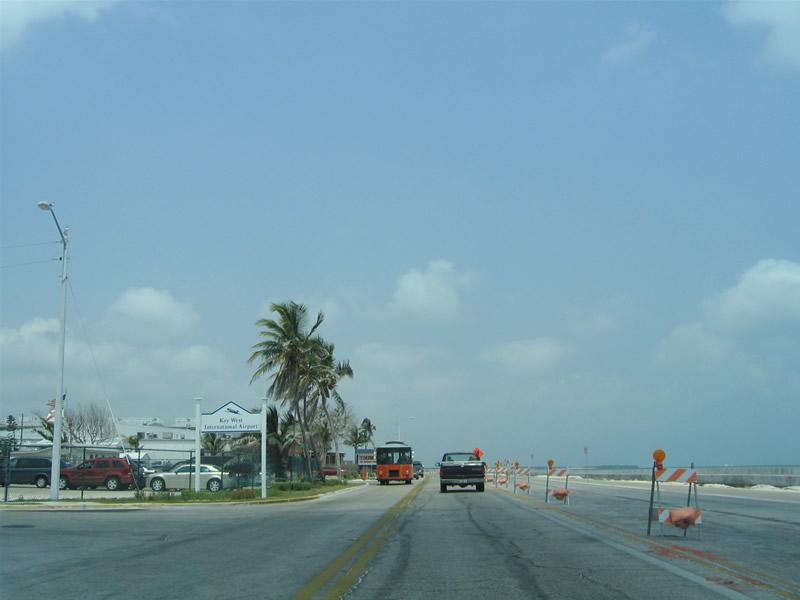 State Road A1A Key West AARoads Florida