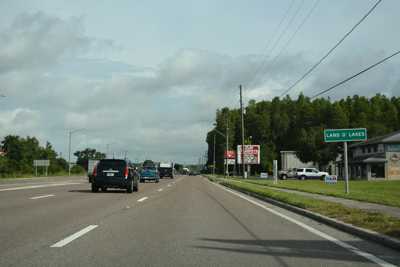 U S 41 North Pasco County Aaroads Florida