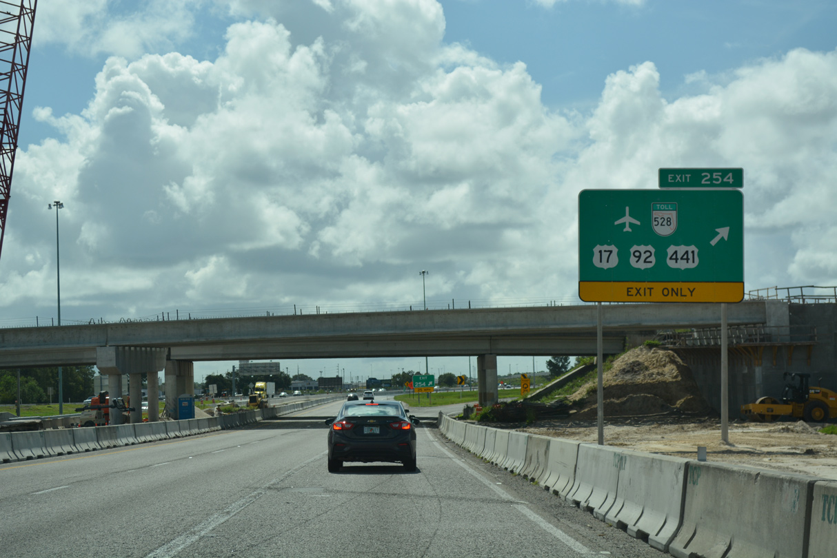 Florida's Turnpike South - Orlando to Yeehaw Junction