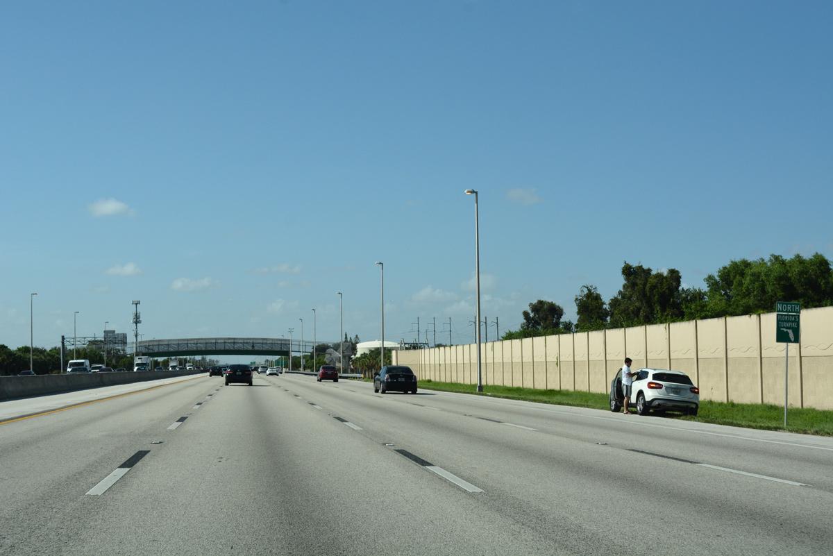 Florida's Turnpike North - Miami Gardens and Broward County