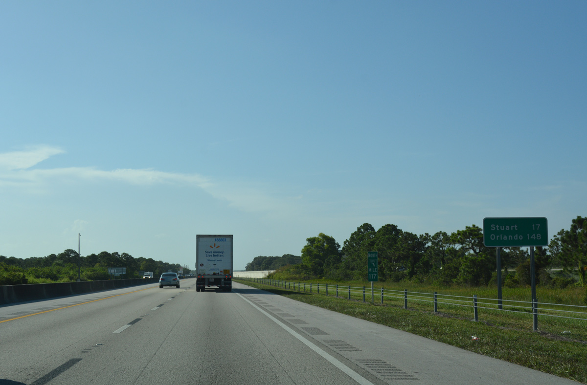 Florida 39 s turnpike north palm beach county aaroads for Rural development florida