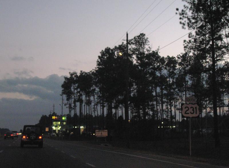 U.S. 231 South - AARoads - Florida