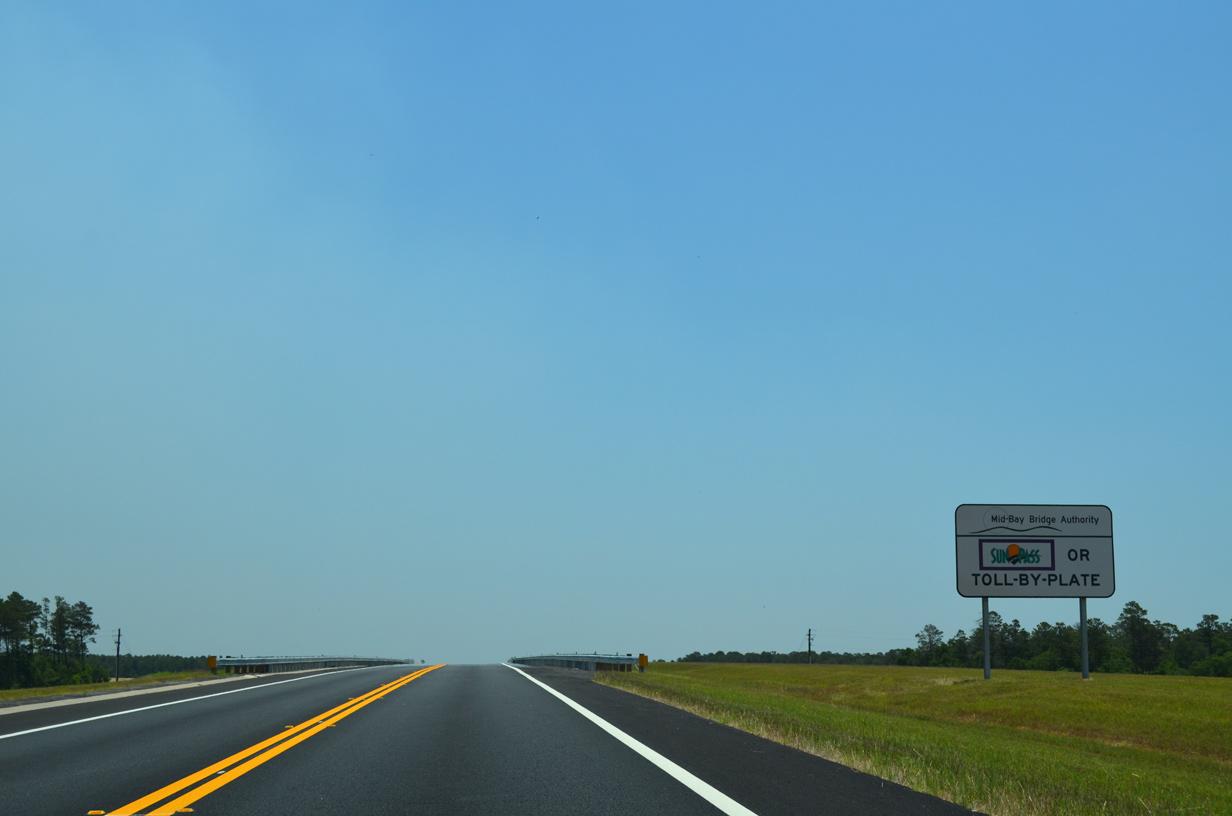 Florida Toll By Plate >> Mid-Bay Bridge / Mid-Bay Bridge Connector - South ...