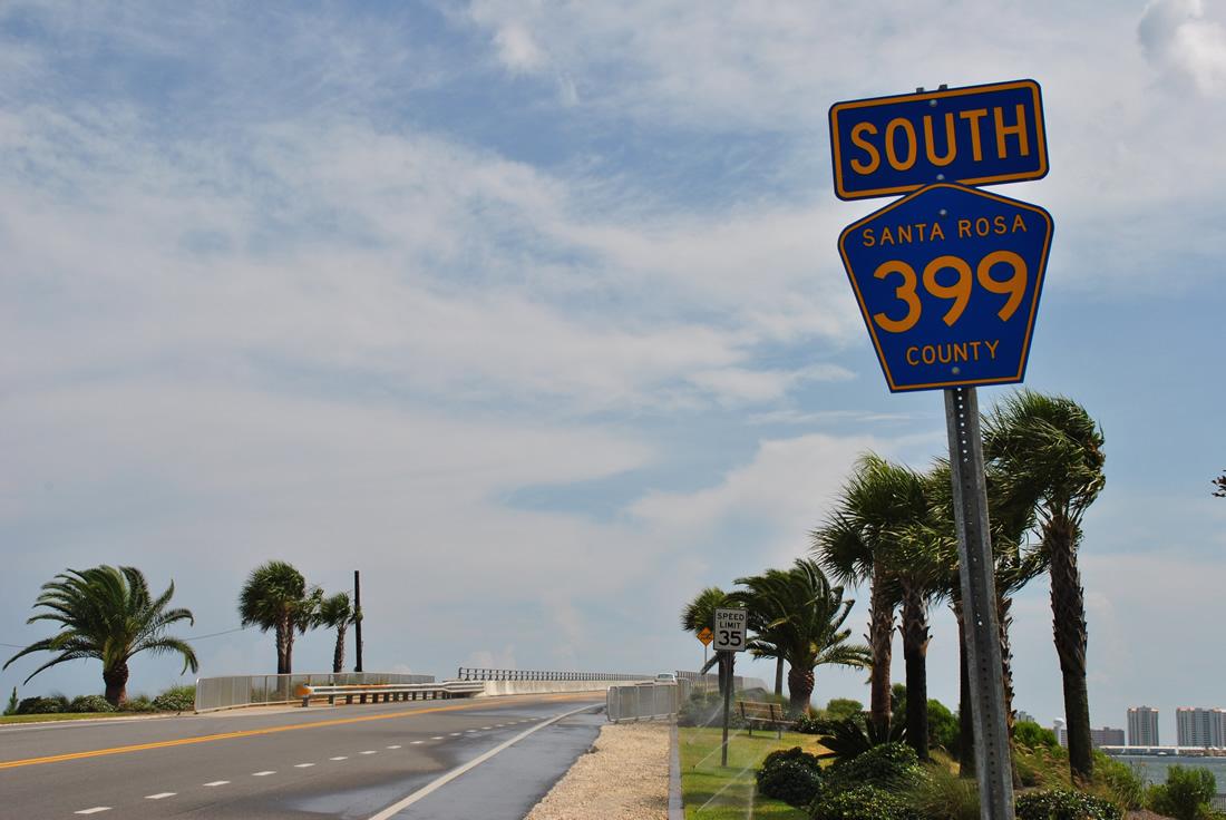 County Road 399 West Aaroads Florida