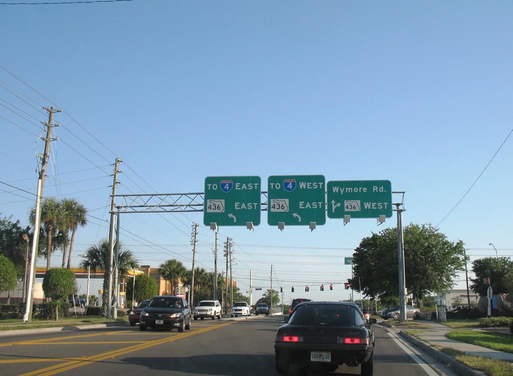 State Road 436 Semoran Boulevard Aaroads Florida