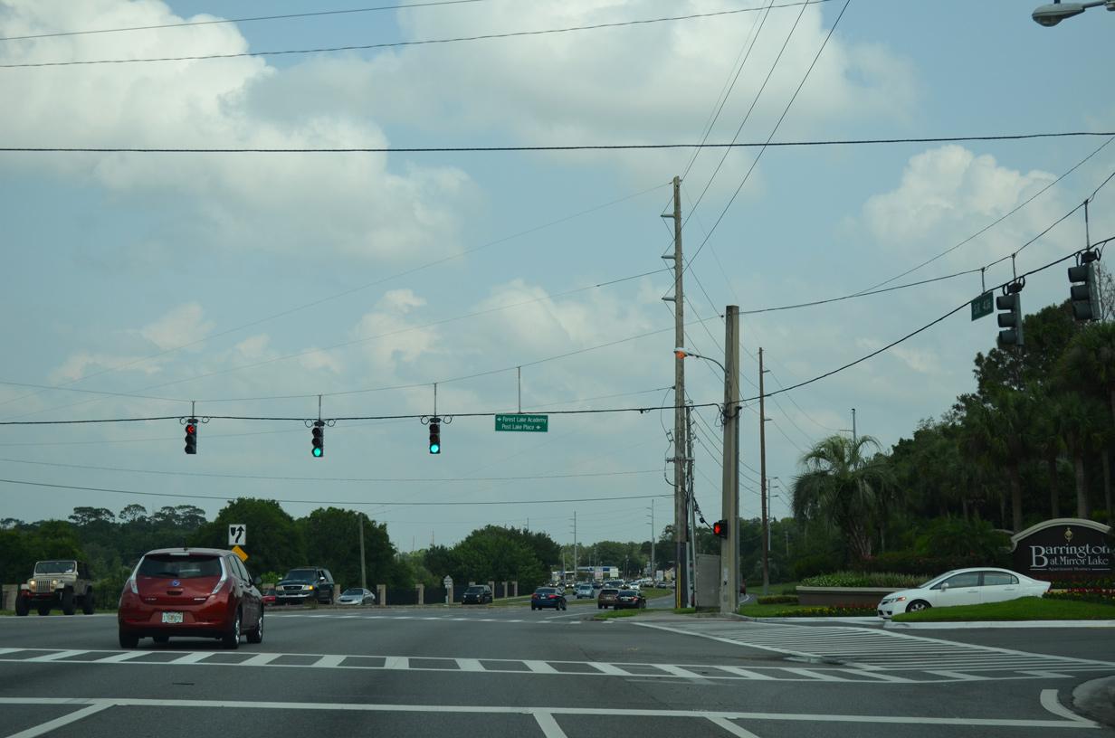 Florida 436 East Seminole County Aaroads Florida