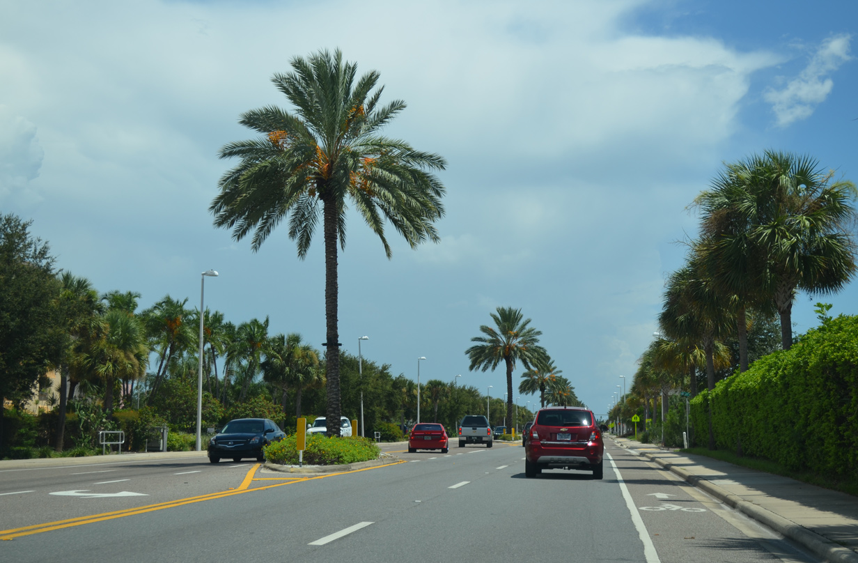 West Gulf Boulevard In Sunset Beach At Th Avenue