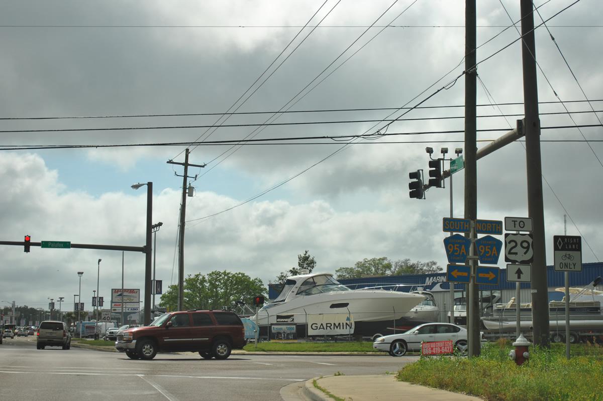 Car Dealerships In Pensacola Fl >> State Road 750 - Airport Boulevard - AARoads - Florida