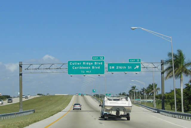 North - Homestead AARoads -  Turnpike Extension Florida