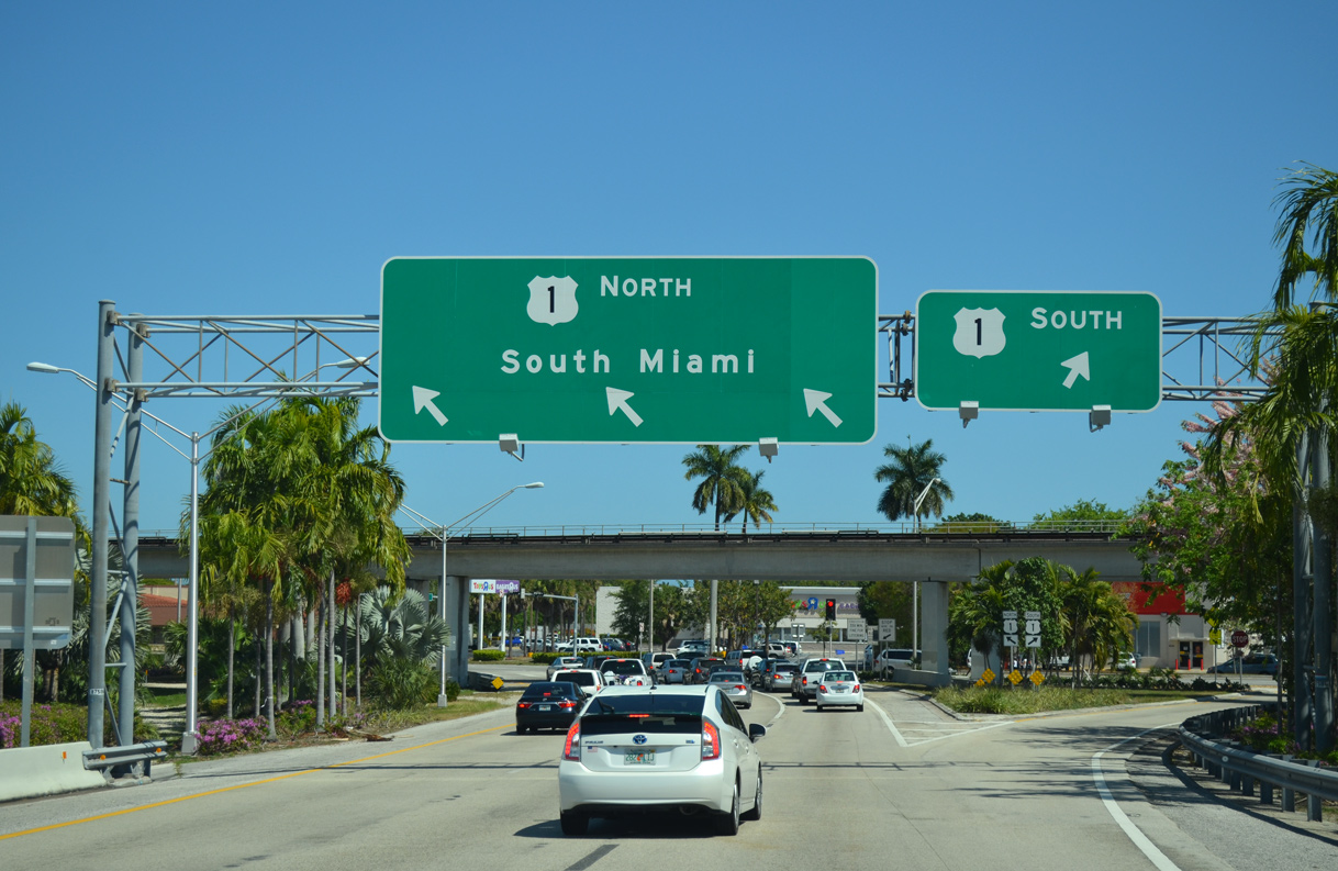 State Road 878 - Snapper Creek Expressway - AARoads - Florida