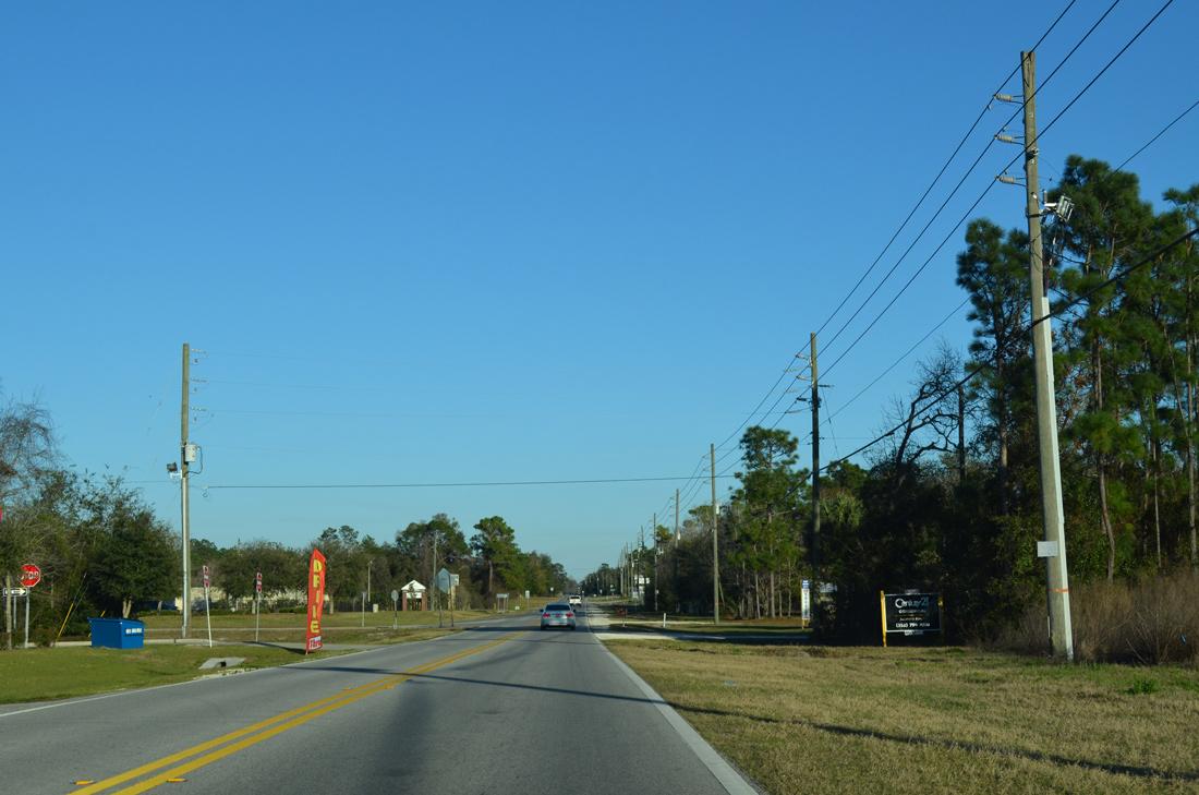 Hernando County Road 570 Wiscon Road AARoads Florida