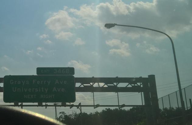I-76 / Schuylill Expressway new signs