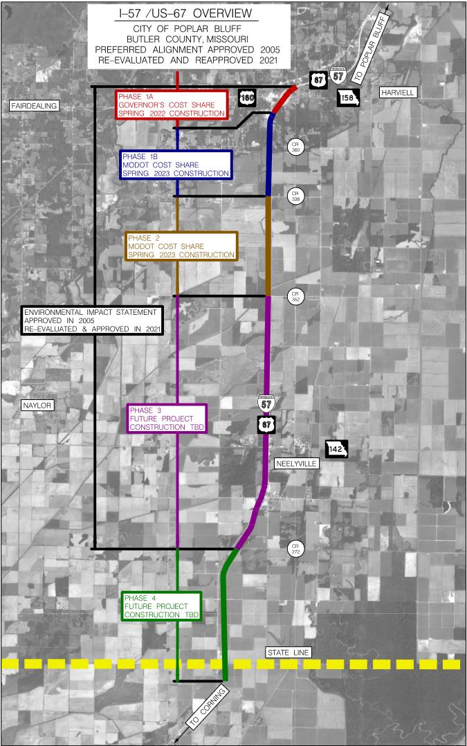 I-57 South of Poplar Bluff