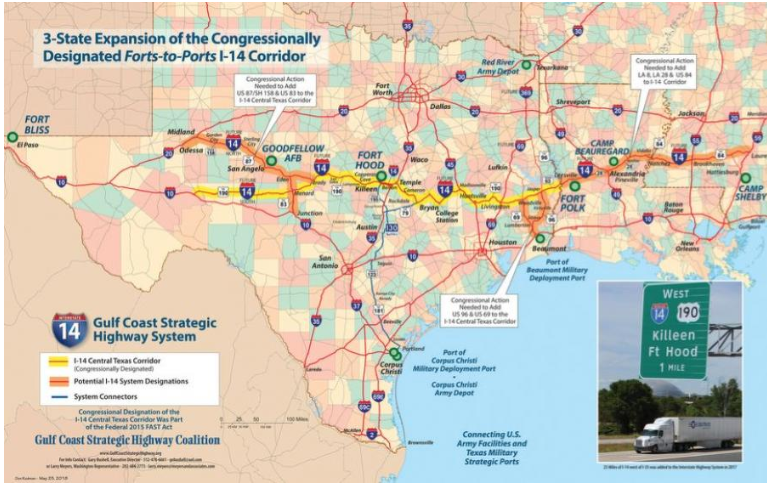I-14 Three State Expansion