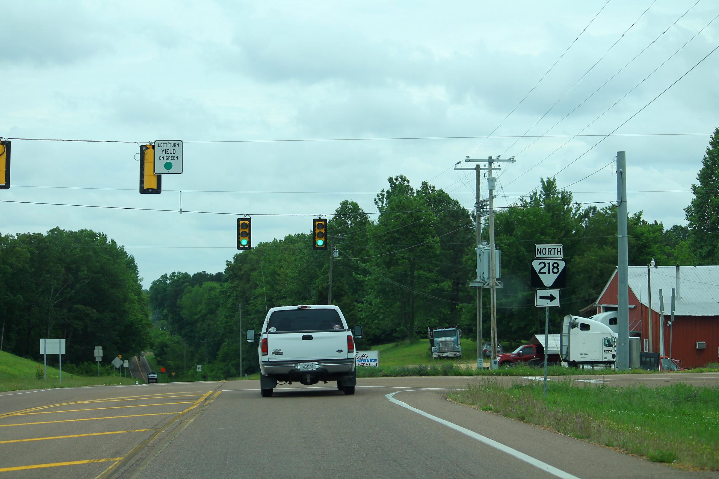 US641 South at TN218 North