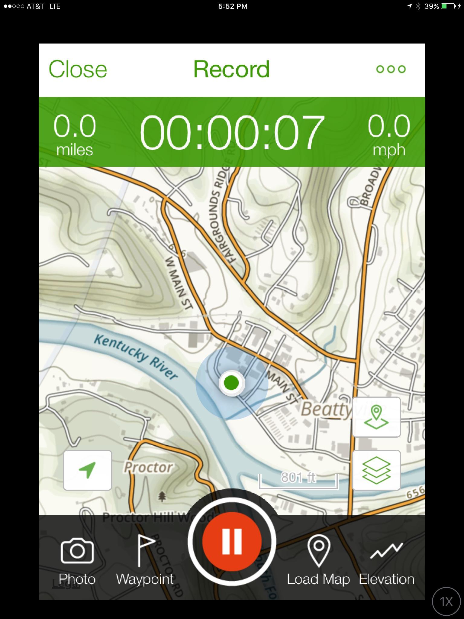 AllTrails Screenshot