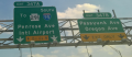 I-76 / Schuylkill Expressway east at Penrose Avenue