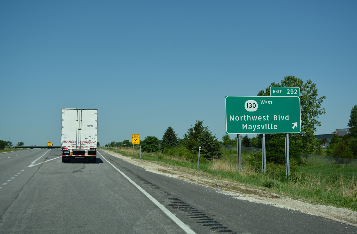 Interstate 80 West - Quad Cities Vicinity - AARoads - Iowa