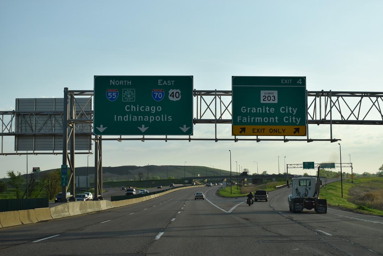 Interstate 55 in Illinois