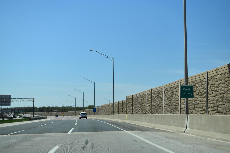 Illinois Route 390 Tollway - AARoads - Illinois