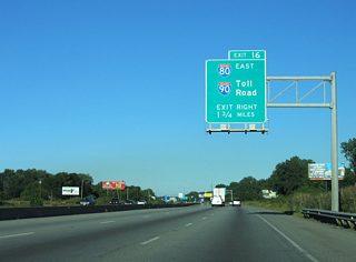 Interstates 80 & 94 East - Frank Borman Expressway - AARoads