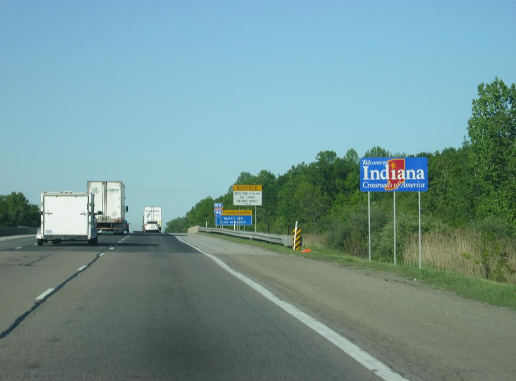 Interstate 94 West - AARoads - Indiana