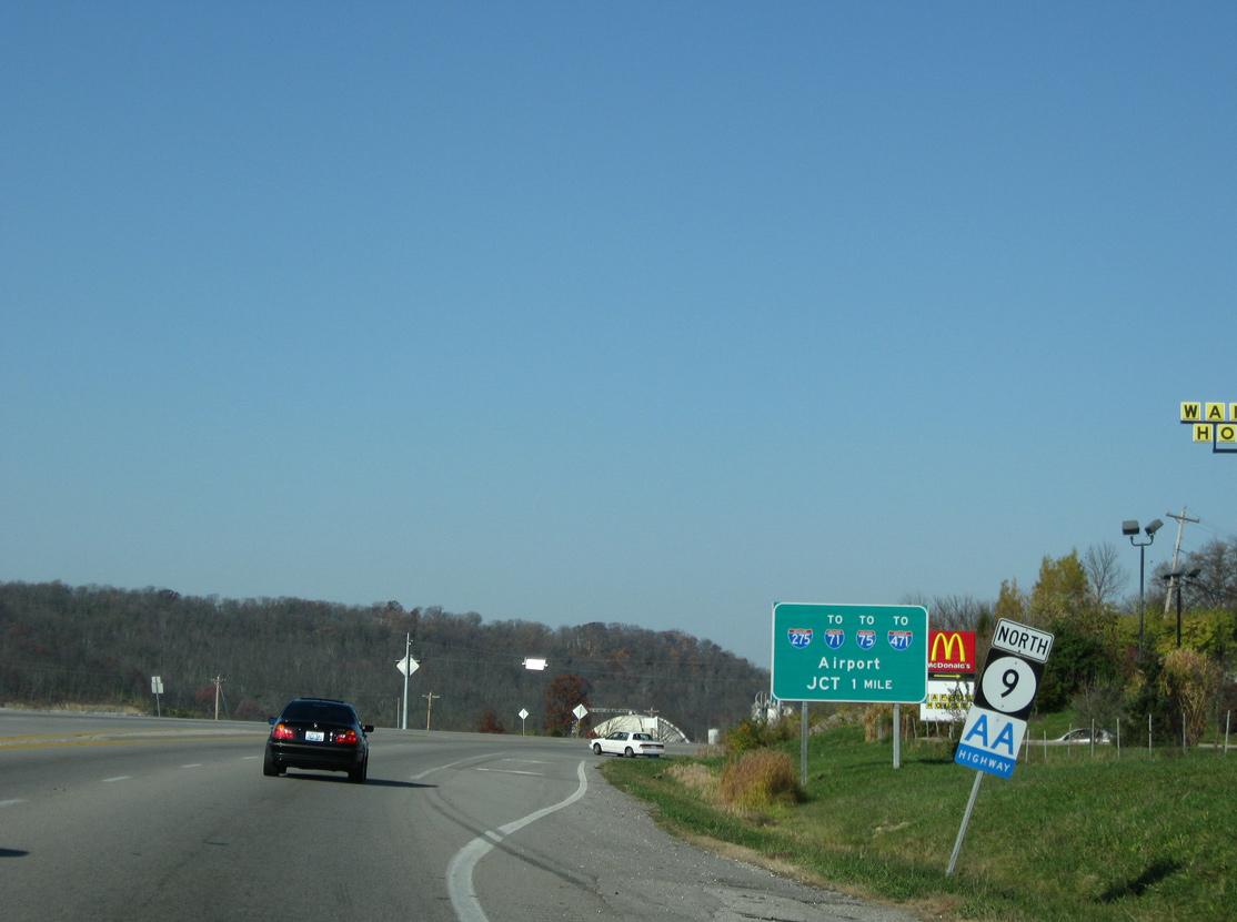Kentucky 9 - AA Highway - AARoads - Kentucky on kentucky power plant, kentucky route 17, kentucky highways, kentucky wilderness,