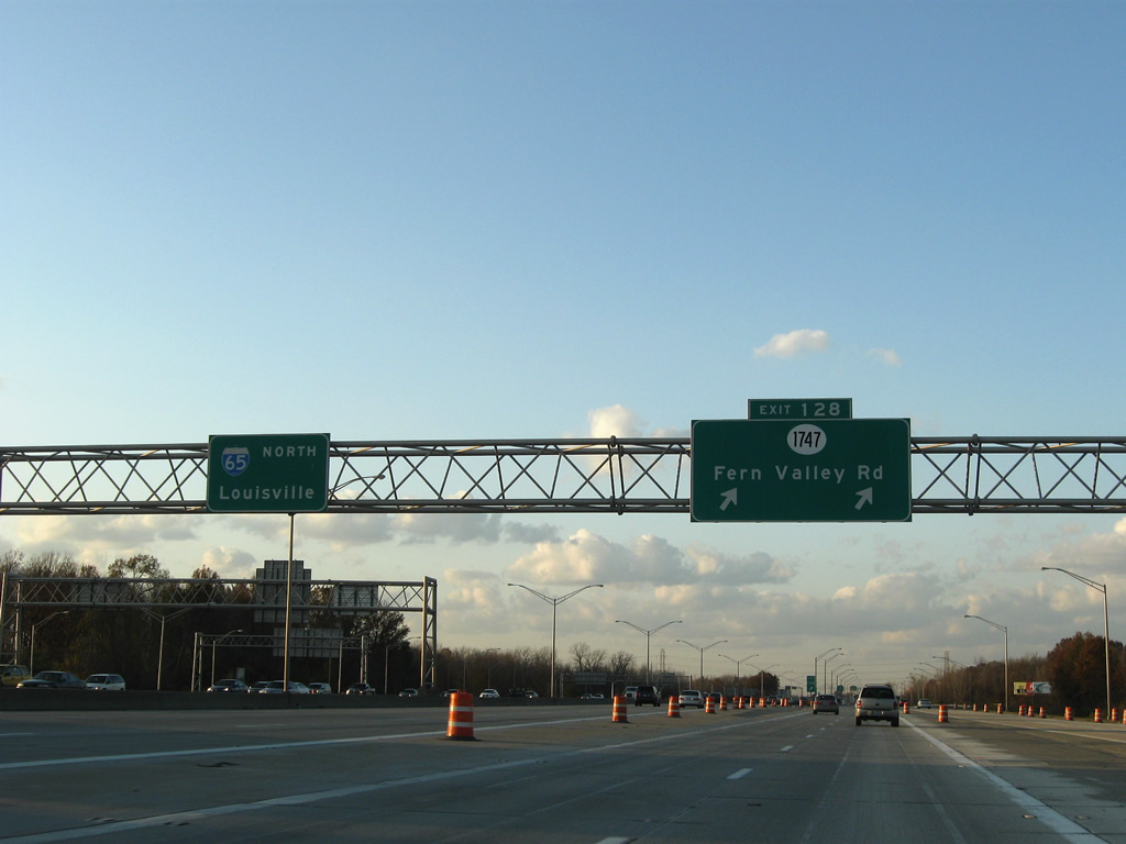 Interstate 65 North - Louisville - AARoads - Kentucky