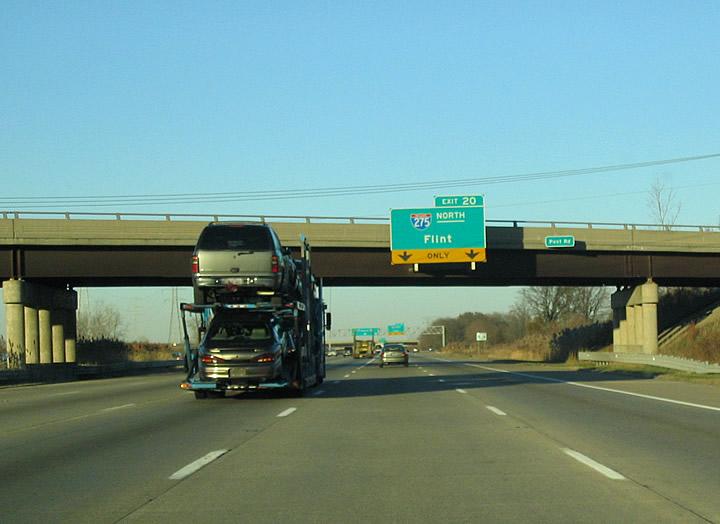 Michigan @ AARoads - Interstate 75 North (Ohio to Detroit)