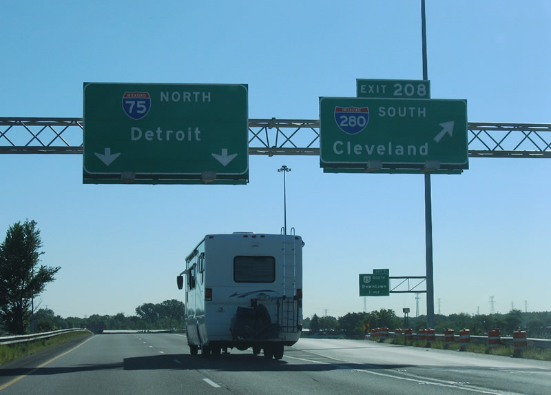 Ohio @ AARoads - Interstate 75 North (Toledo area)