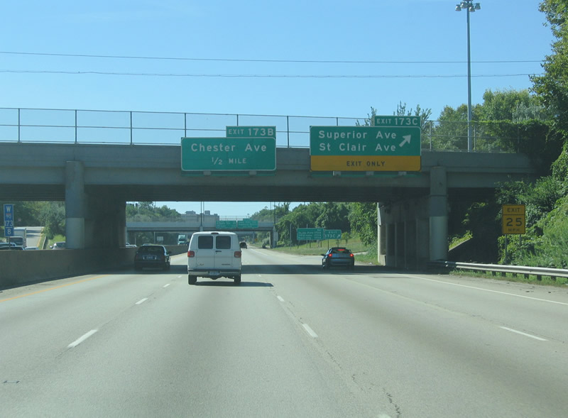 Ohio @ AARoads - Interstate 90 West (Cleveland)