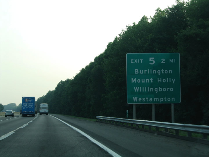 New Jersey Turnpike South Mansfield To Deepwater