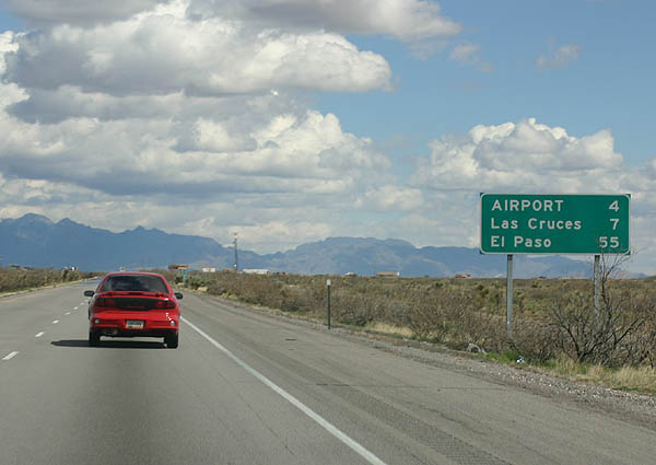 Interstate 10 East Do 241 A Ana County Aaroads New Mexico