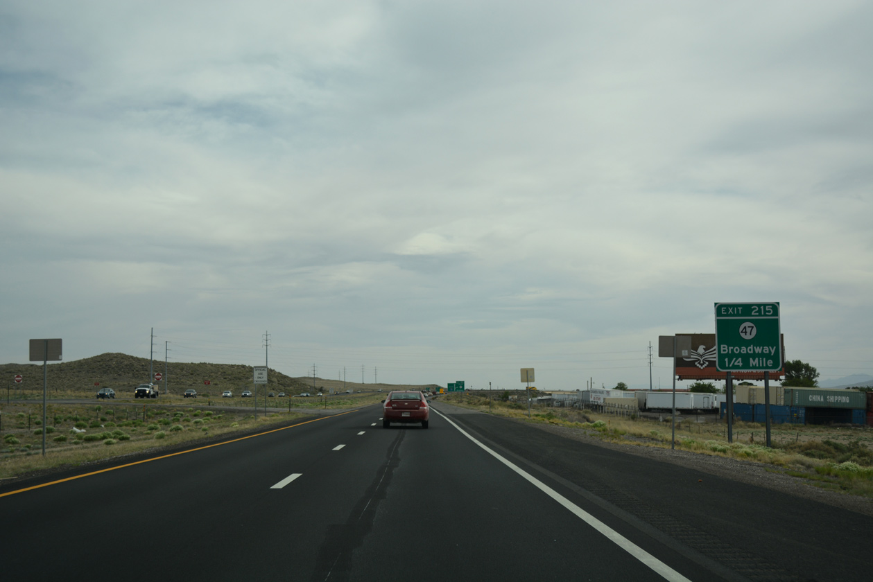 Interstate 25 South - Bernalillo County - AARoads - New Mexico