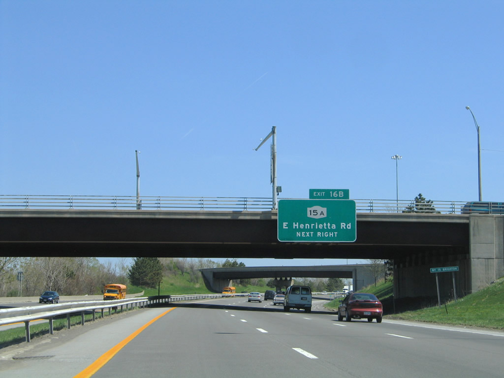 New york monroe county henrietta - Exit 16b Joins East River Road Ahead Of Its End At New York 15a East Henrietta Road New York 15a Follows East Henrietta Road North To Its End At Mt Hope