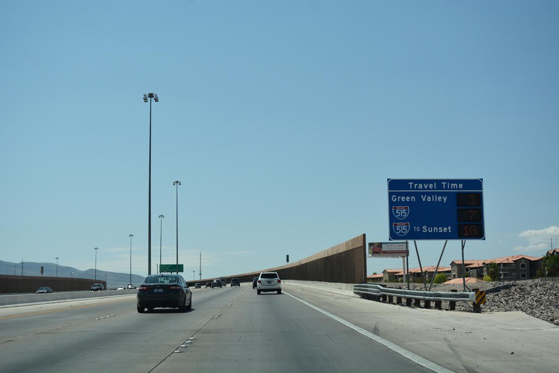 Interstate 215 East (Outer Loop) - AARoads - Nevada