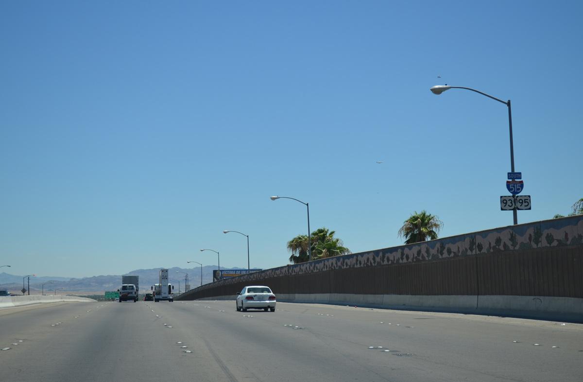 Interstate 515 and U S  93 & 95 South - AARoads - Nevada