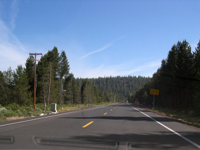 U S 97 North Klamath Falls To Chemult Aaroads Oregon