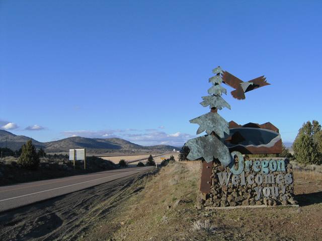 U S 97 North California To Klamath Falls Aaroads Oregon