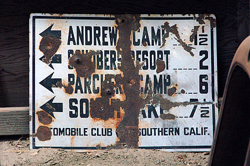 Andrews Camp, Schubers Resort, Parchers Camp, South Lake, Death Valley, Laws Railroad Museum