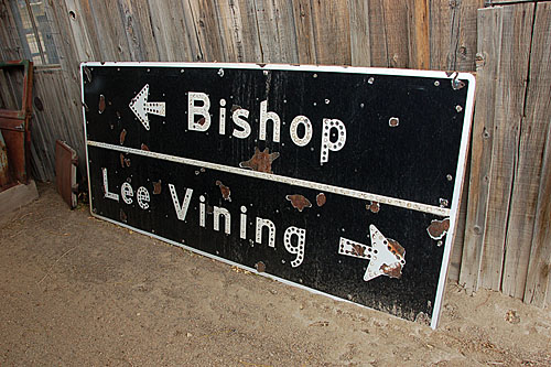 Bishop, Lee Vining, US highway 395, Laws Railroad Museum