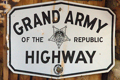 US highway 6, US highway 395, California Division of Highways, Grand Army of the Republic, Laws Railroad Museum