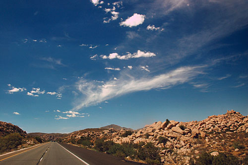 California U. S. highway 80, California interstate highway 8