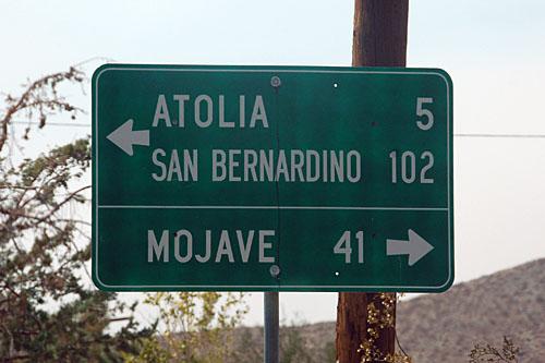 California U. S. highway 6, California U. S. highway 395