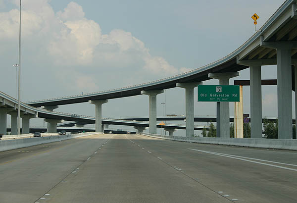 Texas Aaroads East Sam Houston Tollway Outer Loop