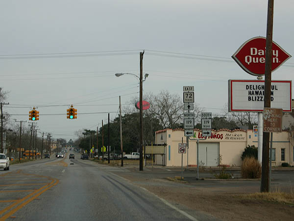 Texas Aaroads Texas State Highway 72